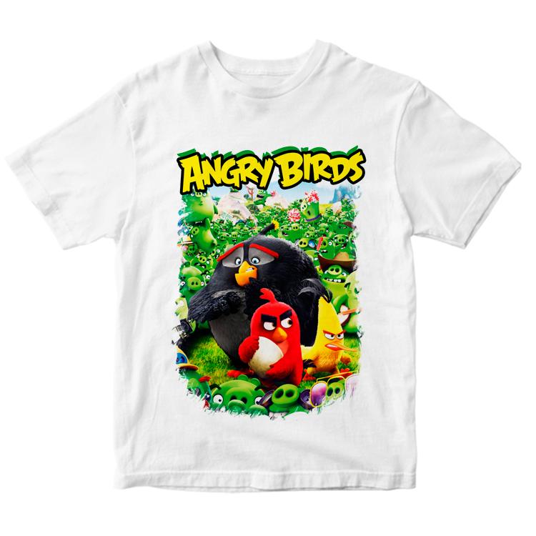 Футболка птички Angry Birds