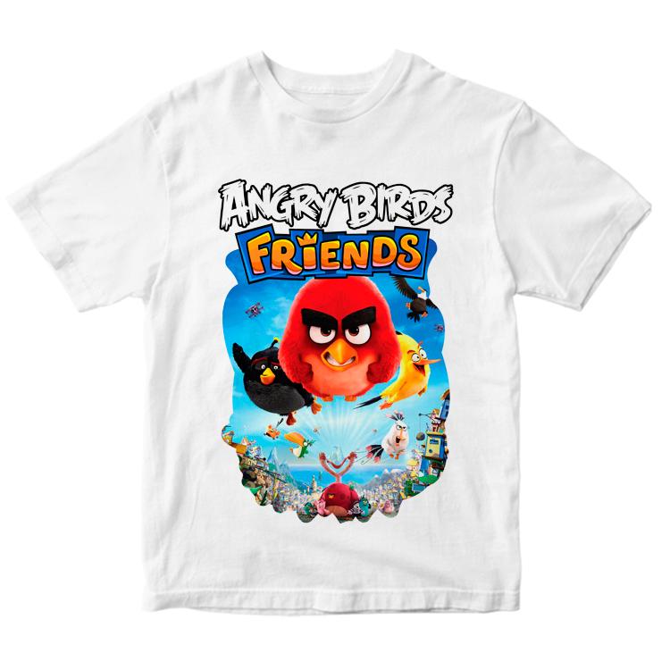 Футболка Angry Birds friends