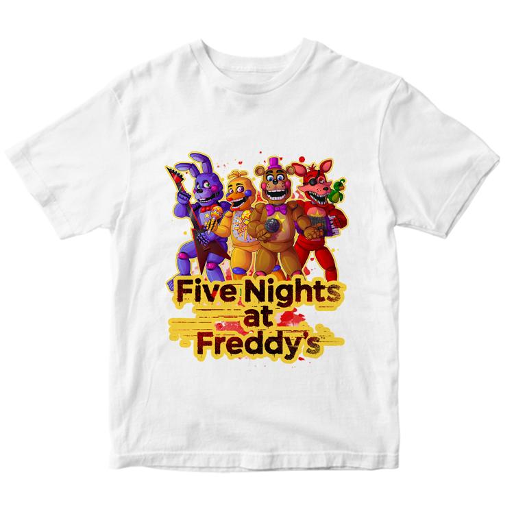 """Футболка """"Пять ночей у Фредди"""""""