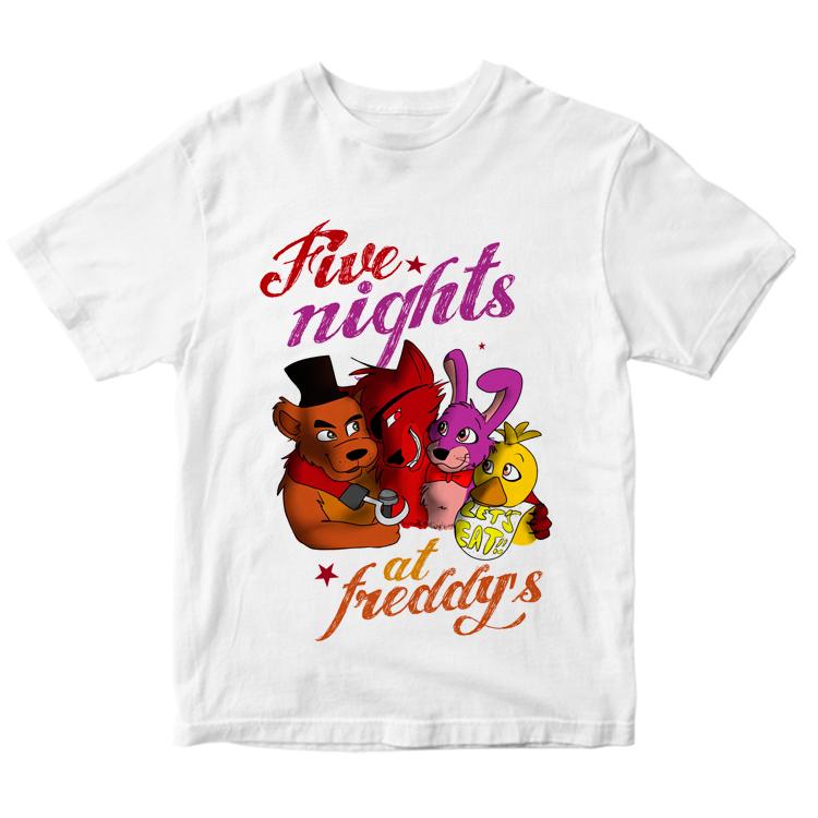 Футболка с героями Five Nights at Freddy's