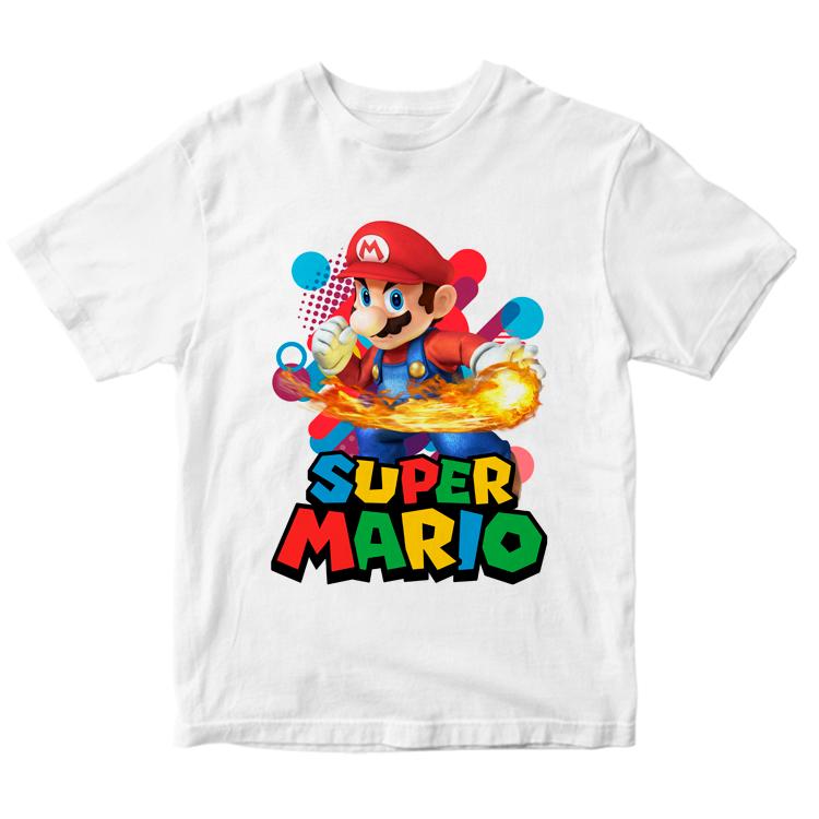 Футболка с принтом Super Mario