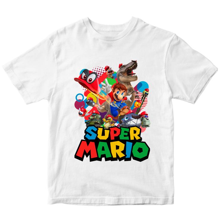 Футболка с героями игры Супер Марио