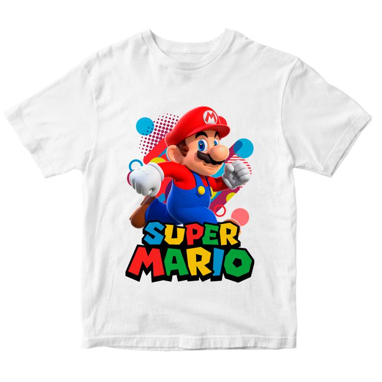 Футболка с игровым персонажем Марио