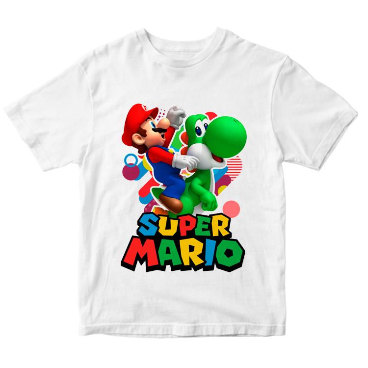 Футболка Супер Марио и черепаха Купа