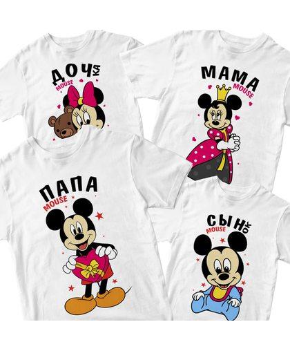 "Комплект футболок ""Маус"""