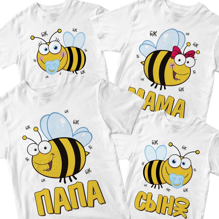 """Футболки """"Пчелки"""""""