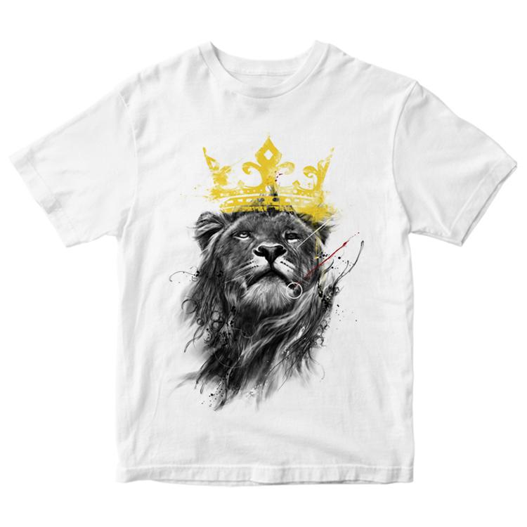 """Мужская футболка """"Царь зверей"""""""