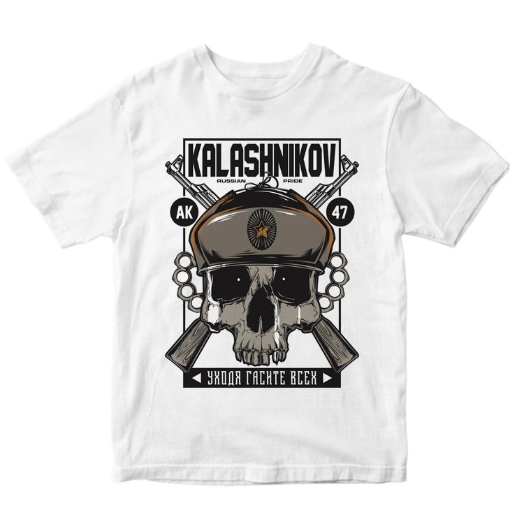 "Мужская футболка ""Kalashnikov"""