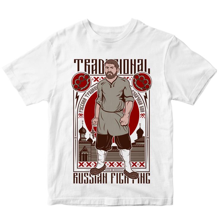 "Мужская футболка ""Кулачный бой"""