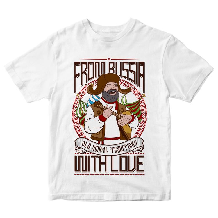 "Мужская футболка ""Old school traditions"""