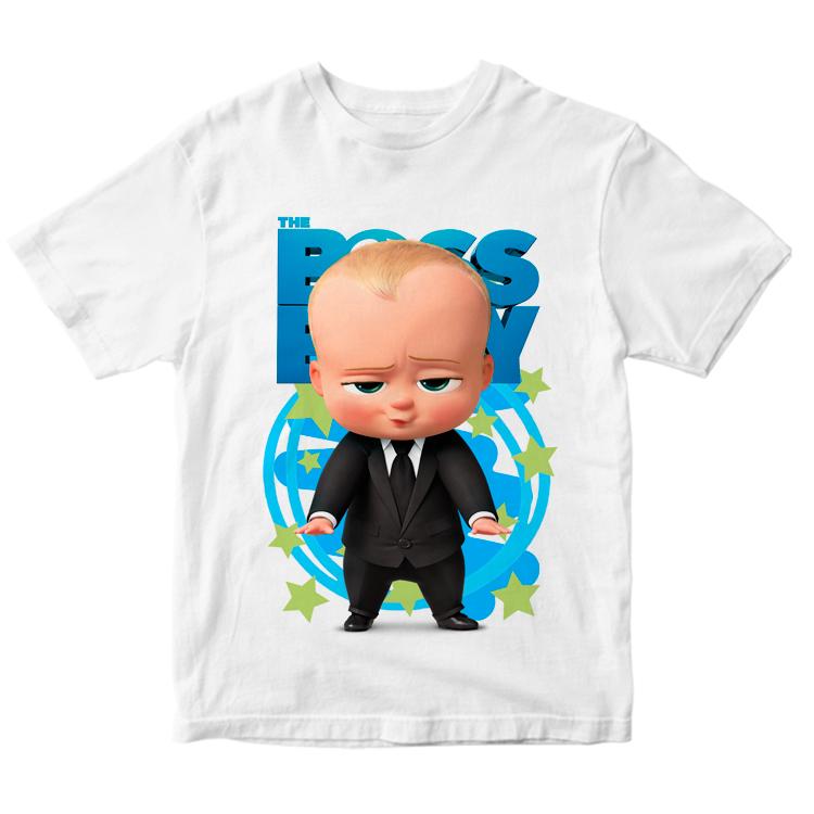 """Детская футболка """"Босс-молокосос"""""""