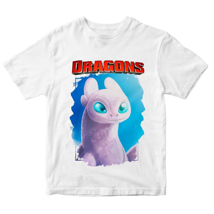 """Детская футболка """"Белая фурия"""""""