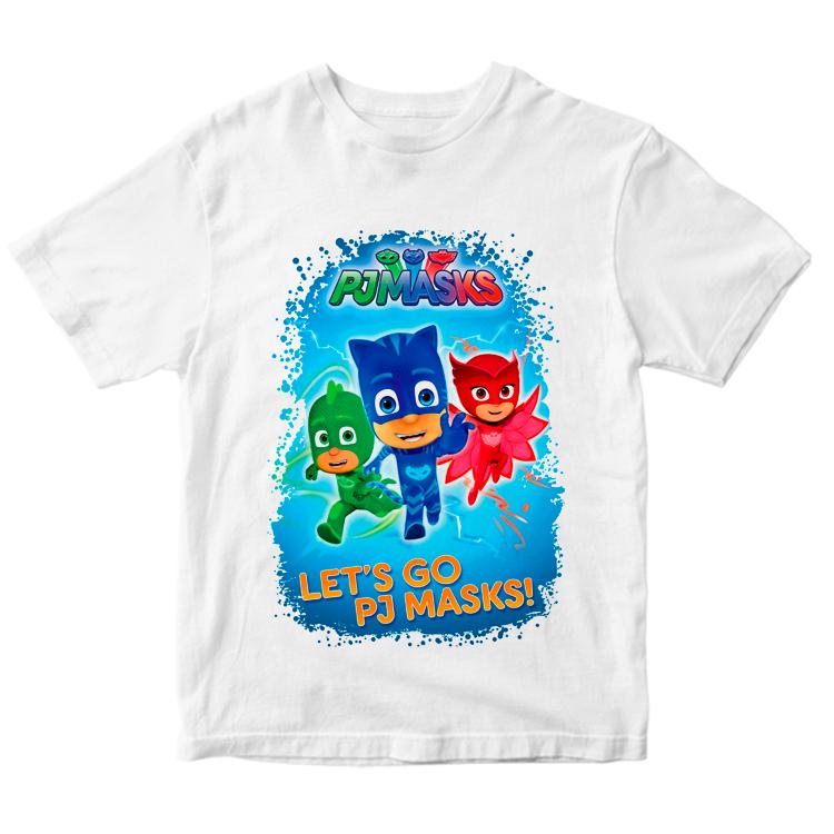 """Детская футболка """"PJ Masks"""""""