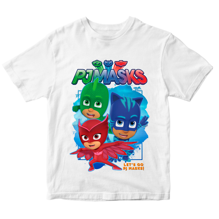 Детская футболка с героями PJ Masks