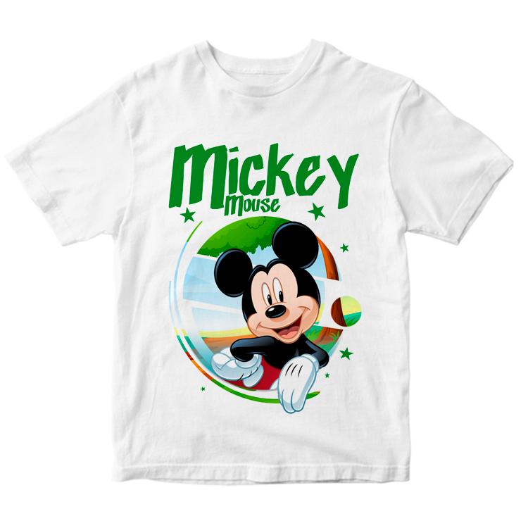 Футболка с рисунком Mickey Mouse