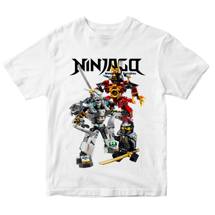 "Футболка ""Ninjago Masters of Spinjitzu"""