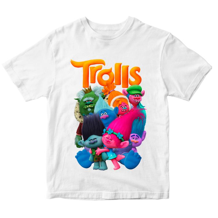 """Детская футболка """"Тролли"""""""