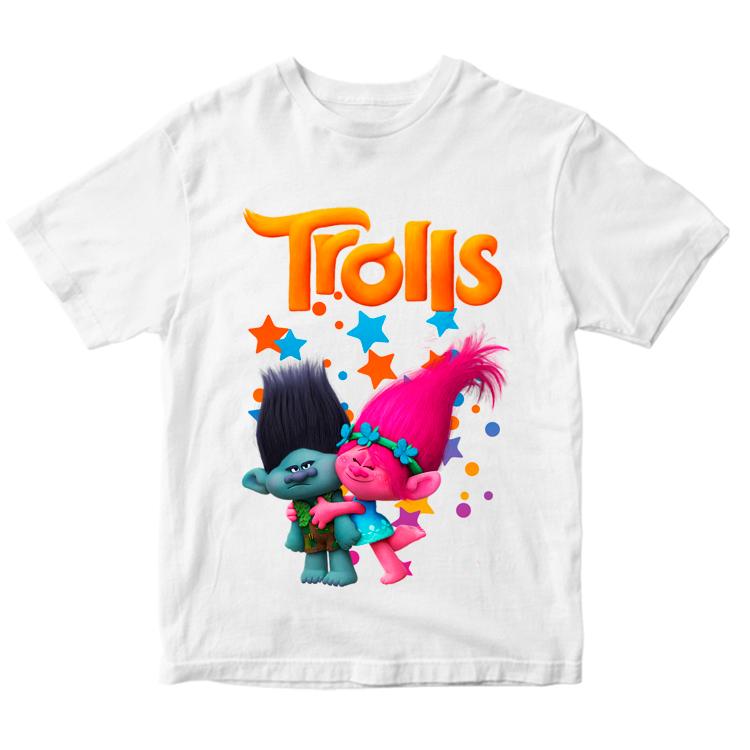 """Детская футболка """"Trolls"""""""