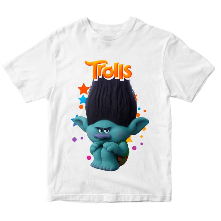 Детская футболка с троллем Цветан