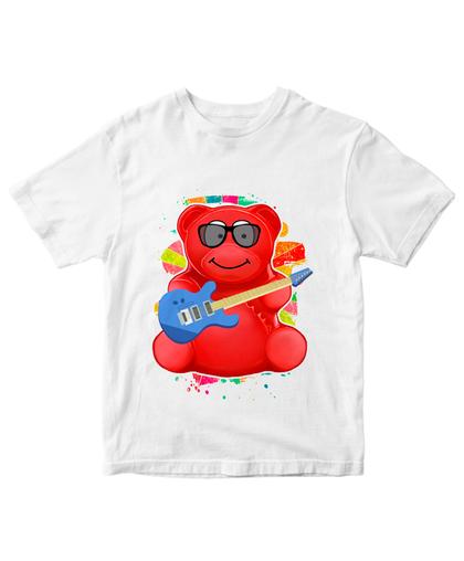 Футболка медведь Валера с гитарой