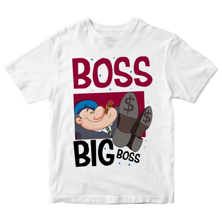 "Футболка ""Boss big boss"""