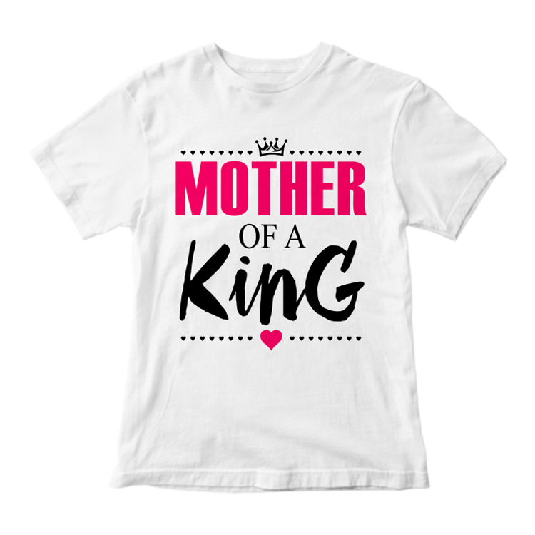 """Футболка """"Mother of a King"""""""