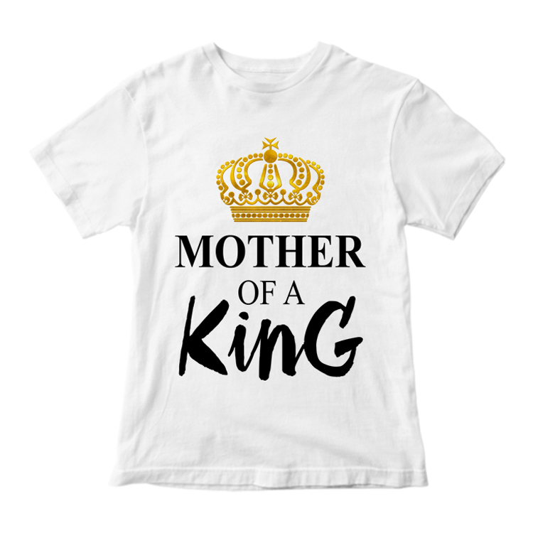 """Футболка с короной """"Mother of a King"""""""