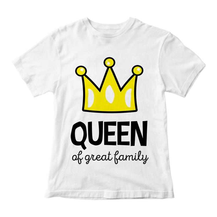 "Футболка ""Queen of great family"""
