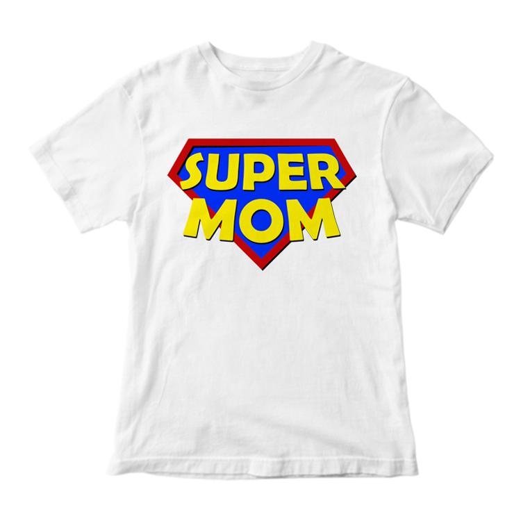 """Футболка """"Super mom"""""""