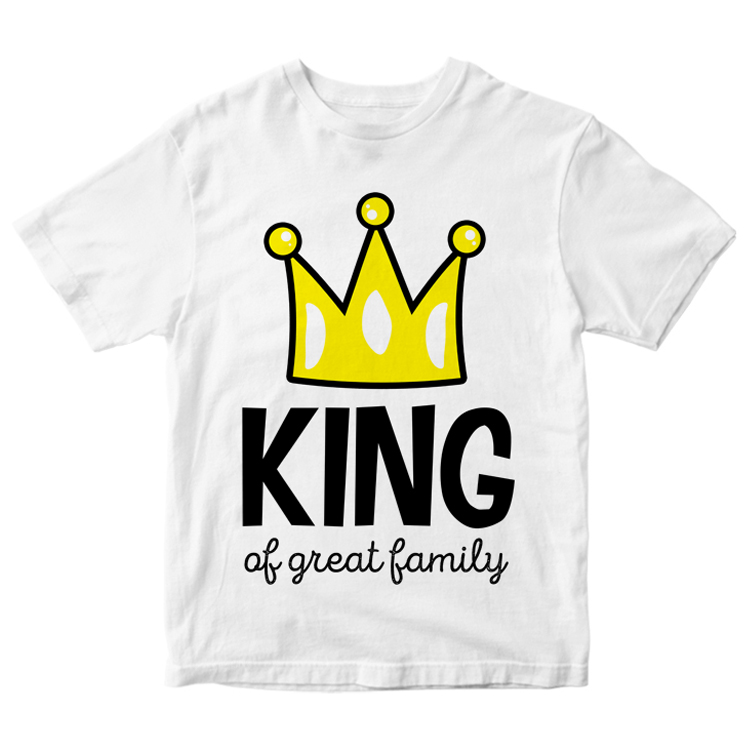 "Футболка ""King of great family"""