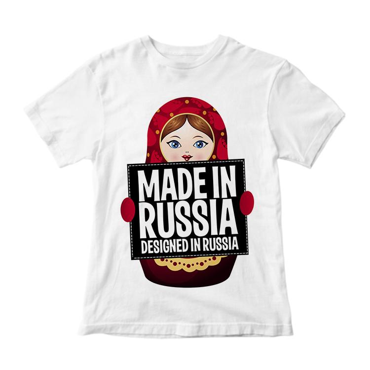 "Футболка ""Designed in Russia"""