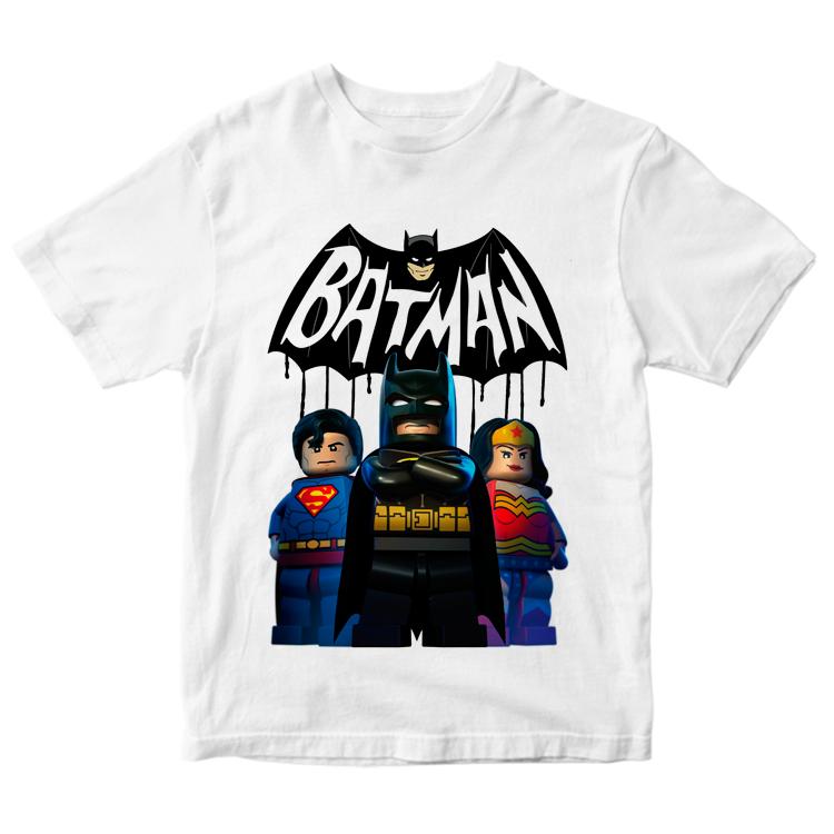 "Футболка ""Бэтмен и супергерои"""