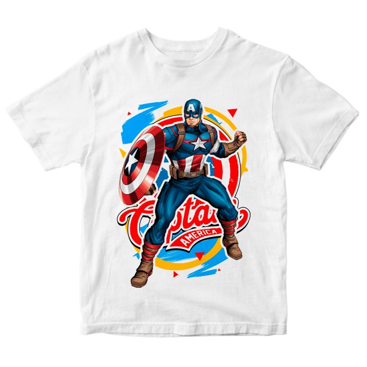 "Футболка ""Капитан America"""