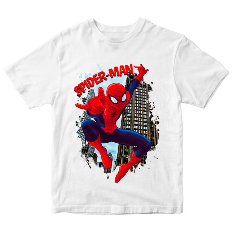 Футболка с принтом Spider-man