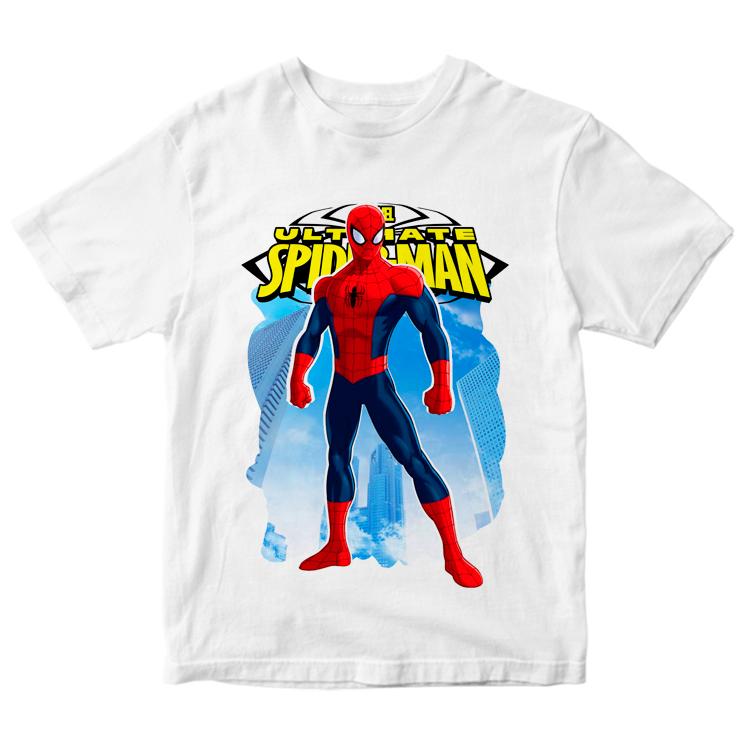 Футболка с рисунком Spiderman