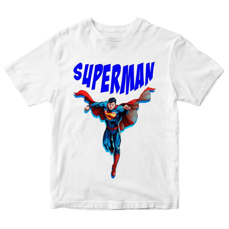 Футболка с рисунком Супермена