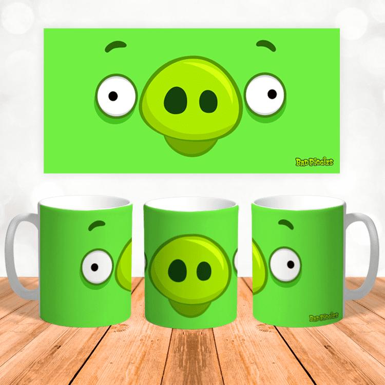 "Кружка ""Bad Piggies Angry Birds"""