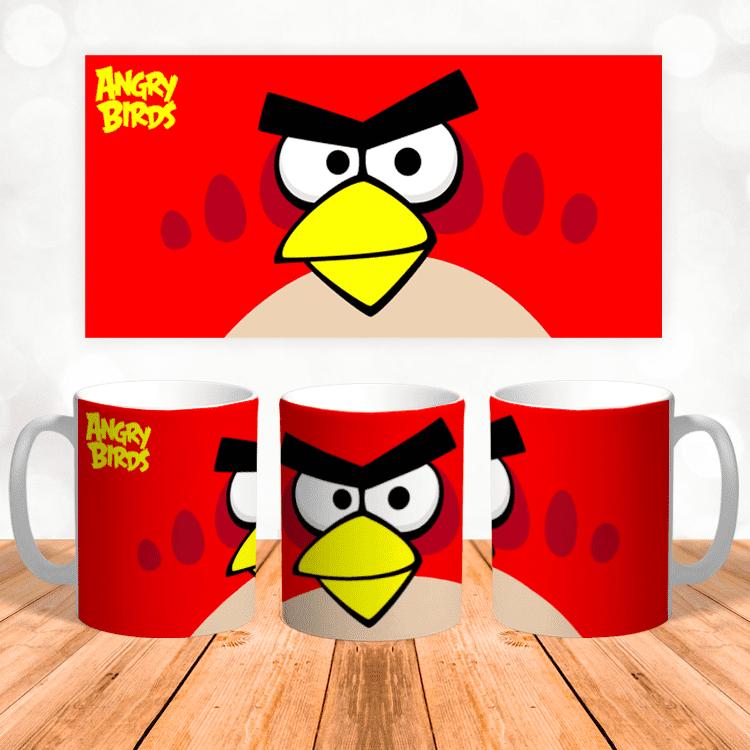 """Кружка """"Рэд Angry Birds"""""""