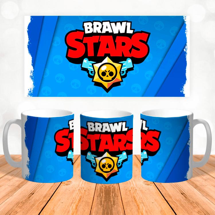 Кружка с логотипом Brawl Stars