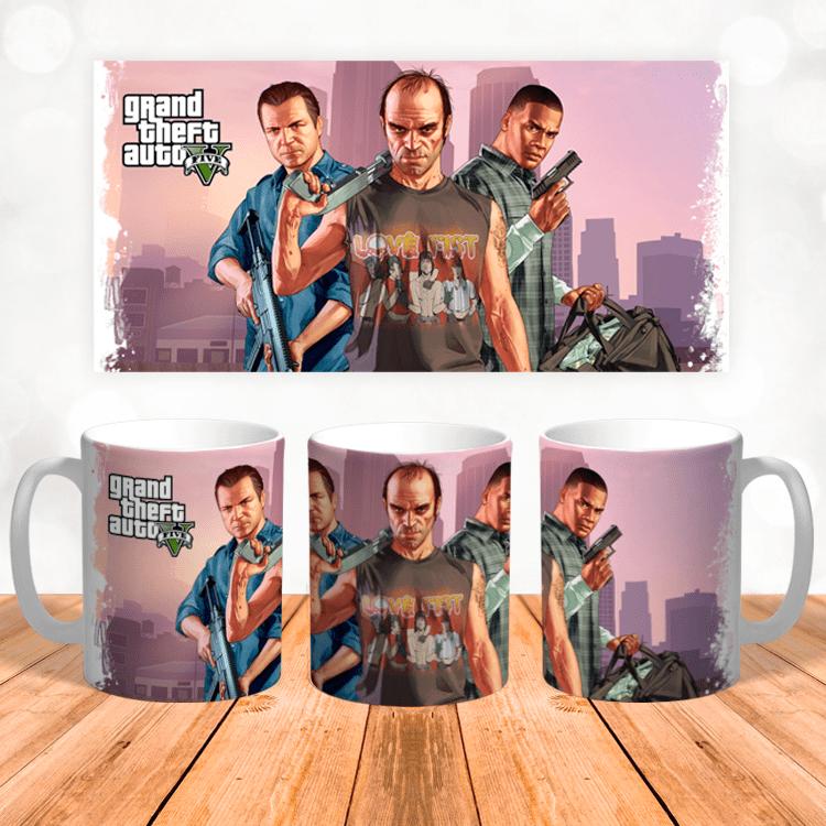 "Кружка ""Grand Theft Auto V"""