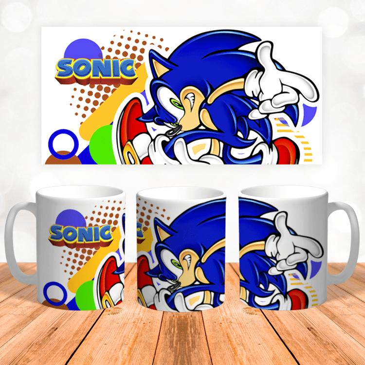 """Кружка """"Синий ёж Sonic"""""""