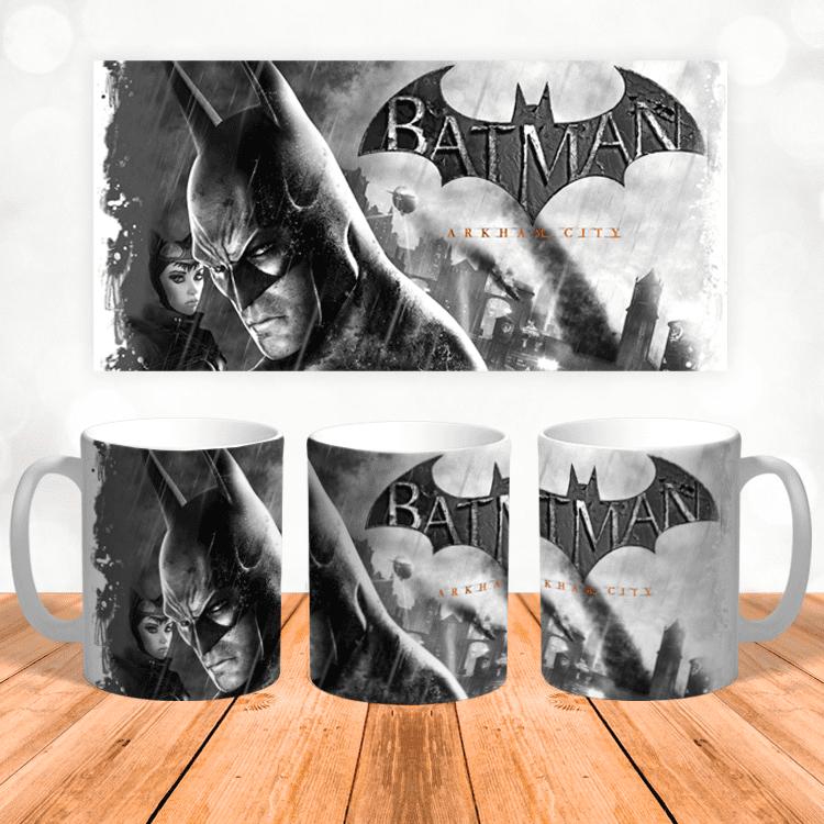 "Кружка ""Batman Arkham City"""