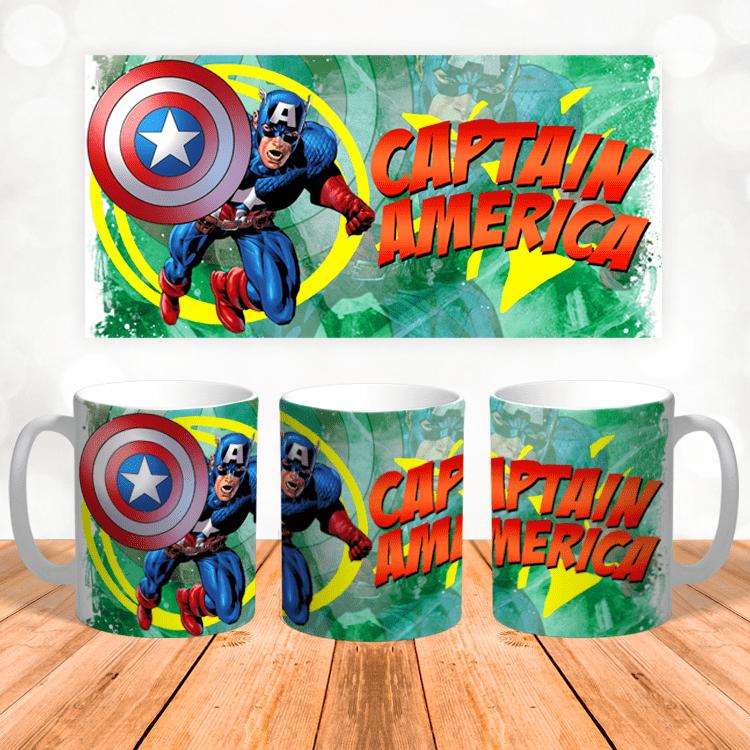 """Кружка """"Капитан Америка"""""""