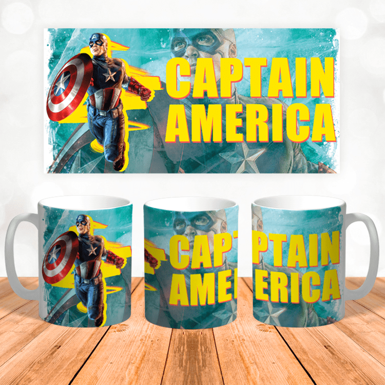 "Кружка ""Captain America"""