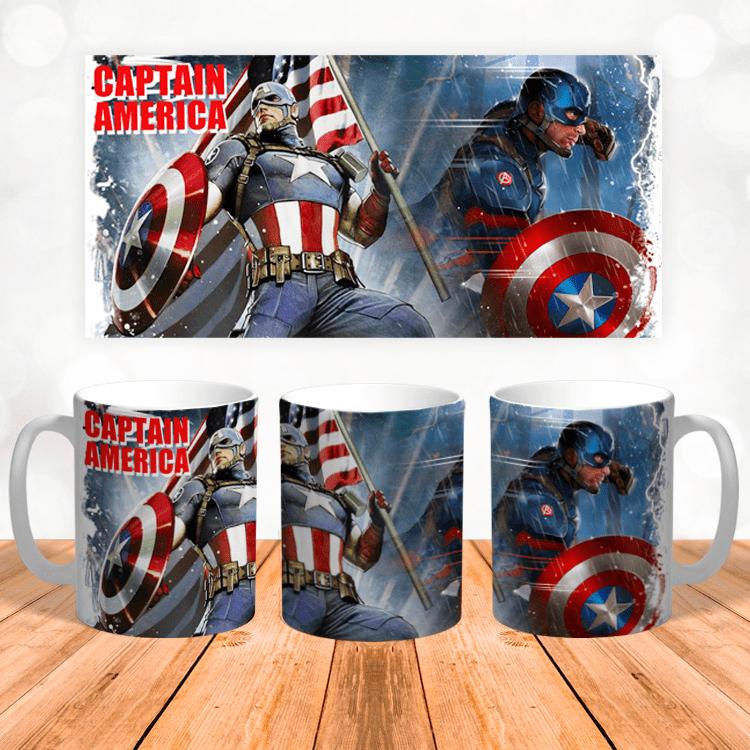 "Кружка ""Marvel Captain America"""