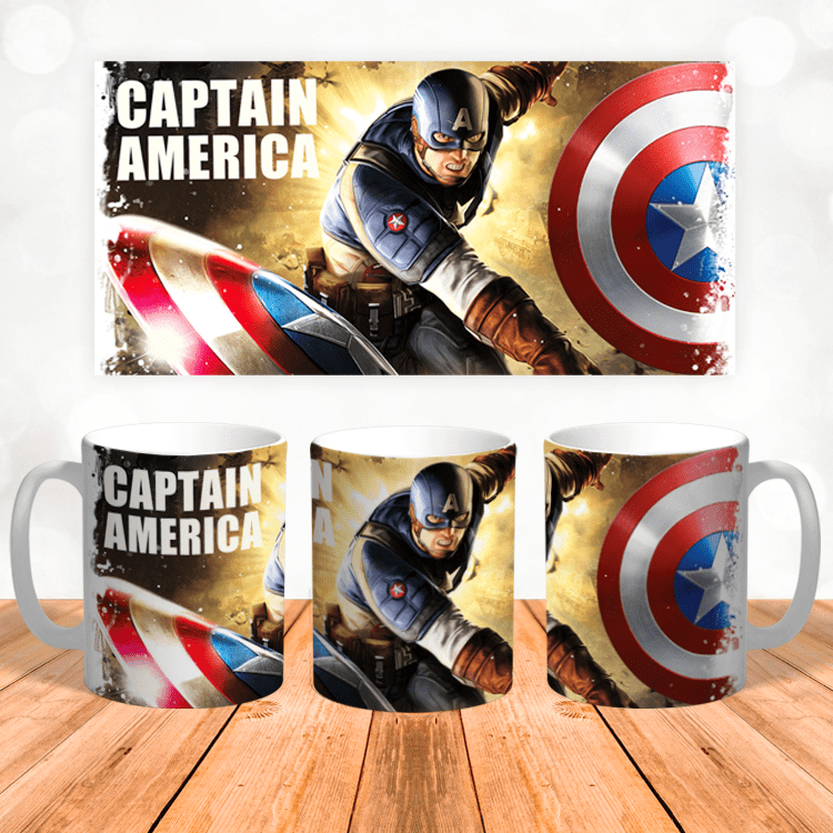 "Кружка ""Марвел Капитан Америка"""