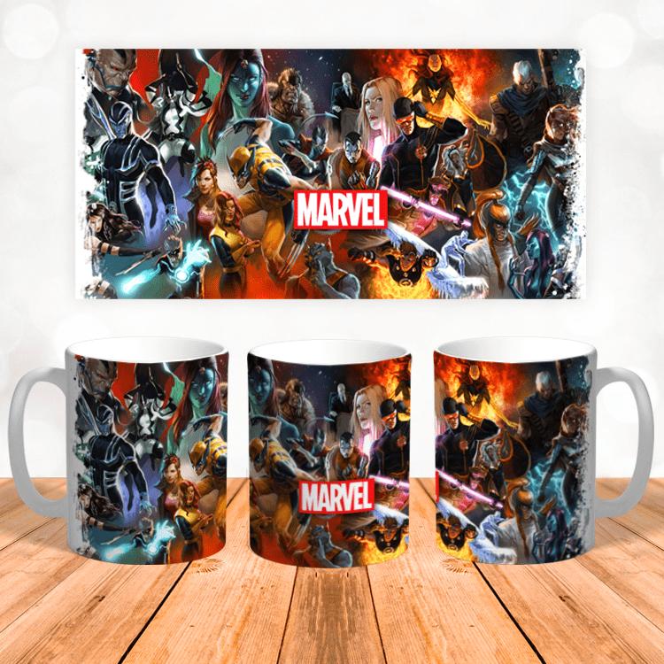 "Кружка ""Marvel Heroes"""