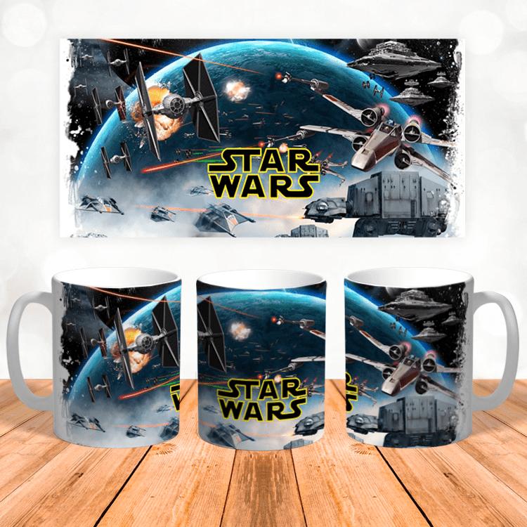 """Кружка """"Вселенная Звёздных войн"""""""
