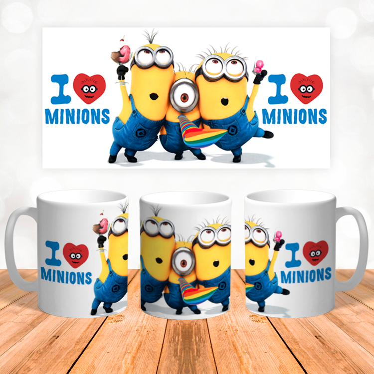 "Кружка ""Love Minions"""