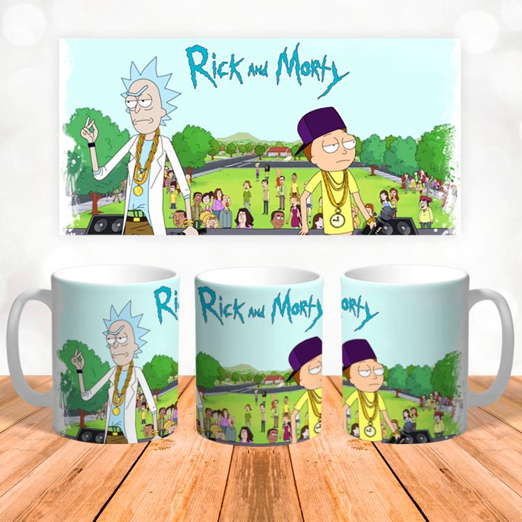 """Кружка """"Rick and Morty"""""""